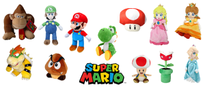 Peluches Super Mario