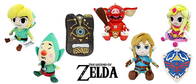 Peluches The Legend of Zelda