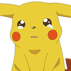 pikachu triste