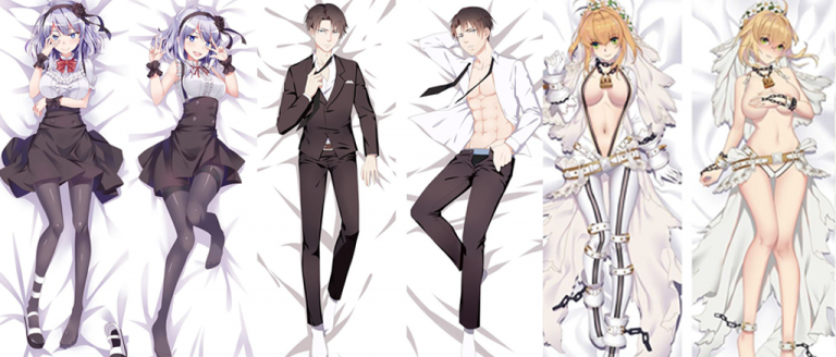 dakimakura o almohada anime