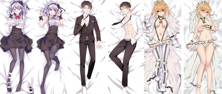dakimakura o almohada anime